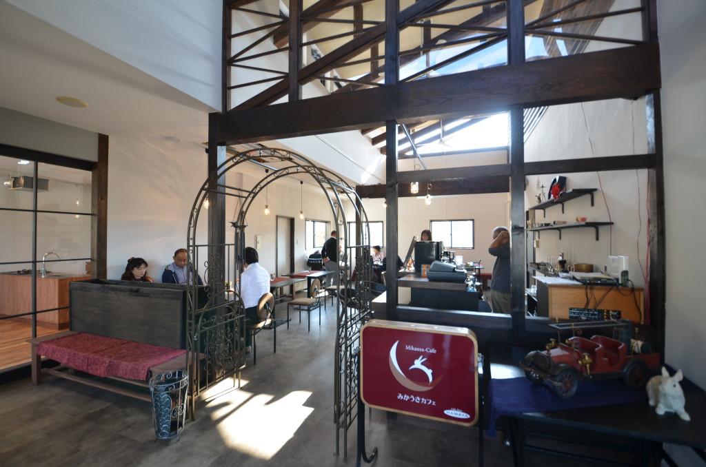 珈琲と音楽の空間 みかうさカフェ1
