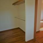 主賓室には、4帖の広々ウォークインクローゼット。